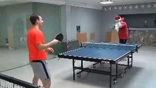 Table tennis biathlon - new kind of sports!