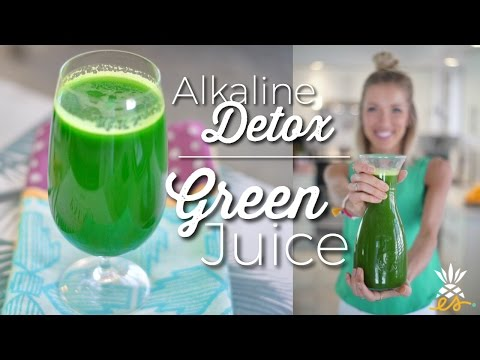 Detoxifying & Cleansing, Alkaline Green Juice! *Plant-based