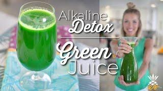 St. Patty's Day Cleanse & Detox Alkaline Green Juice! *Plant-based + Raw Vegan*