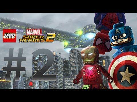 Прохождение игры  LEGO Marvel Super Heroes 2 Часть 2:Мировое турне Мстителей