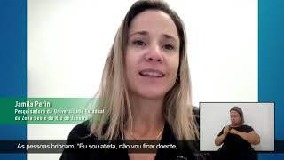 Frame do vídeo