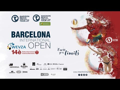 Finales Madison Beach Volley Tour2017 BCN - 14è Trofeu Internacional Ciutat de Barcelona