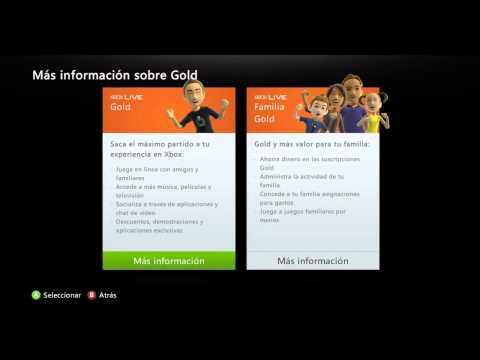 CÓDIGOS XBOX LIVE GOLD GRATIS TUTORIAL - 2013 YA NO FUNCIONA