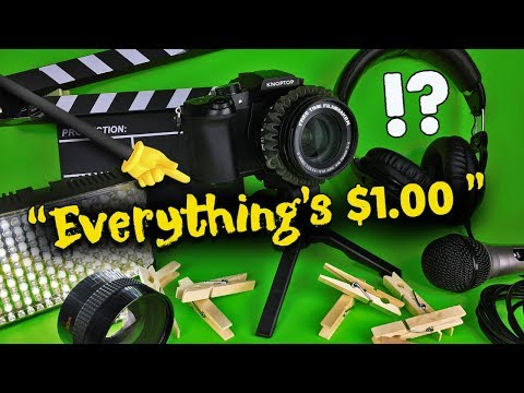 35 THINGS FOR FILMMAKING at Dollar Tree!! (Only $1 Dollar EACH!!)