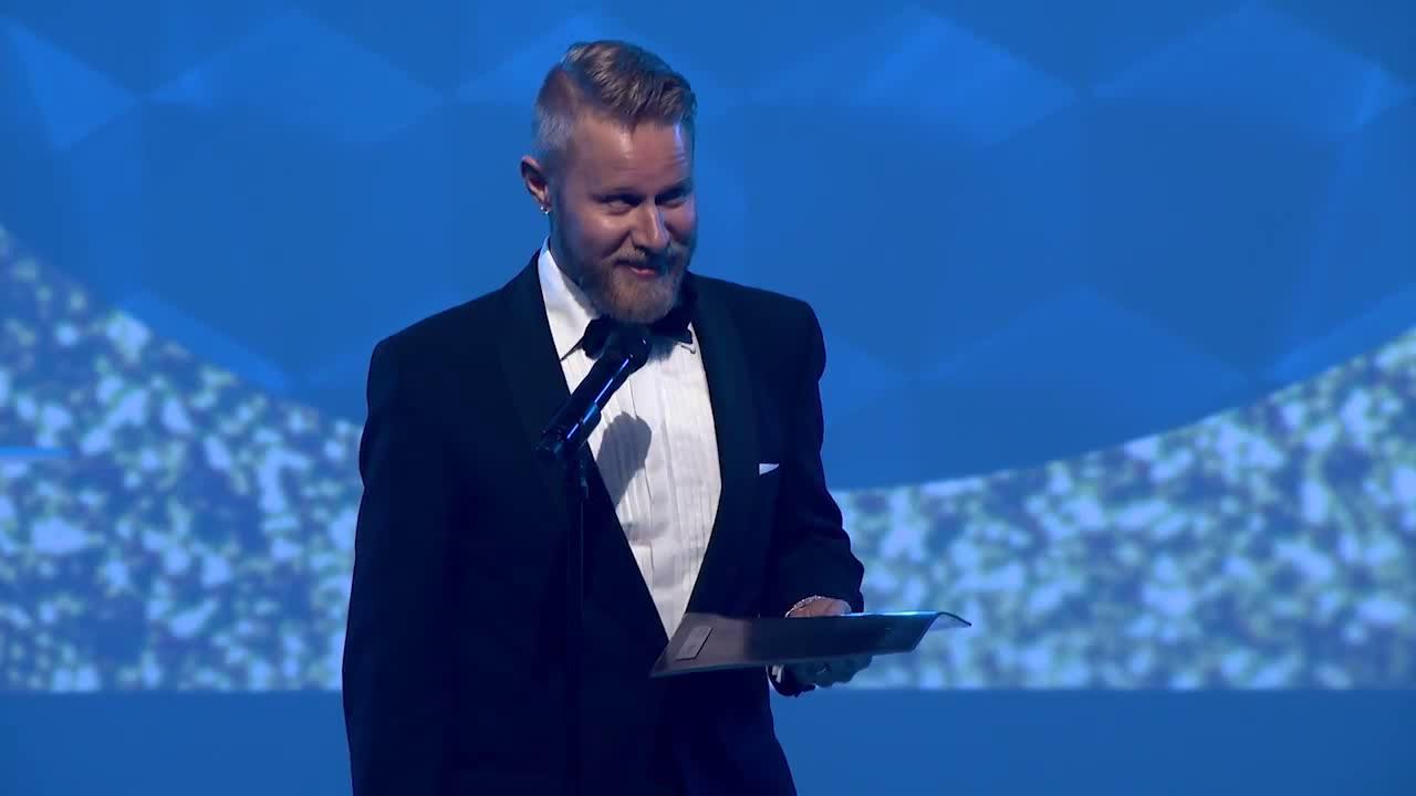 Evento Awards 2017 - Vuoden puhuja/juontaja/kouluttaja Lauri Salovaara