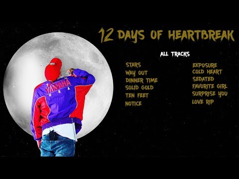 Chris Brown - 12 Days Of Heartbreak - Full Unreleased Mixtape