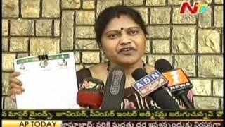 Shobha Rani mulls to give a