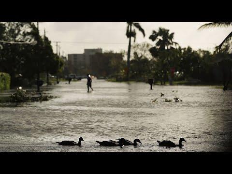 Live look from Florida following Hurricane Irma