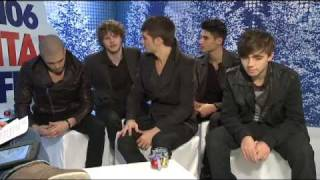 The Wanted Interview At Jingle Bell Ball 2011