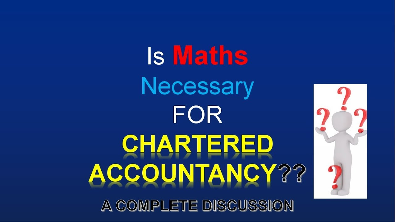 IMPORTANT FOR CA STUDENTS || HOW TO CLEAR MATHS EXAM IN CPT || IS ...