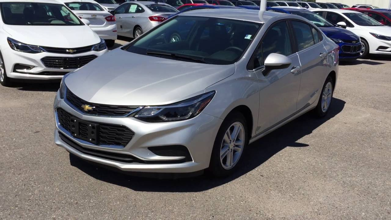 2017 Chevrolet Cruze Lt Silver Ice Metallic Roy Nichols Motors Courtice On