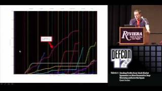 DEFCON 17: Stealing Profits from Spammers or: How I learned to Stop Worrying and Love the Spam