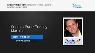 Create a Forex Trading Machine | Josh Taylor