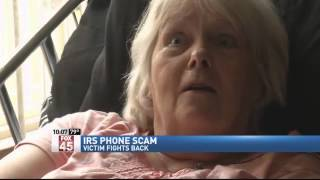 Victim Fights Back Against IRS Phone Scam