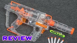 [REVIEW] Nerf Modulus Ghost Ops Evader | IT'S PAINTED CLEAR!