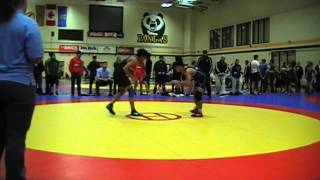 2014 Golden Bear Invitational: 57 kg Darthe Capellan vs. Dave Sharma
