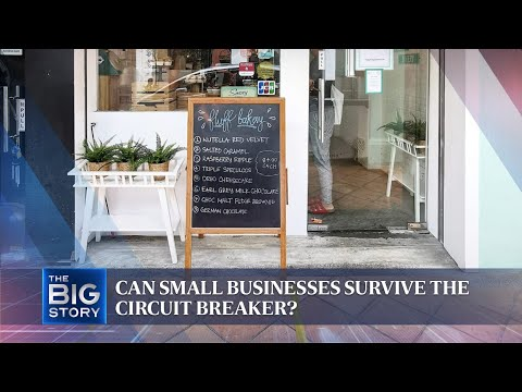 Can small businesses survive the circuit breaker? | THE BIG STORY