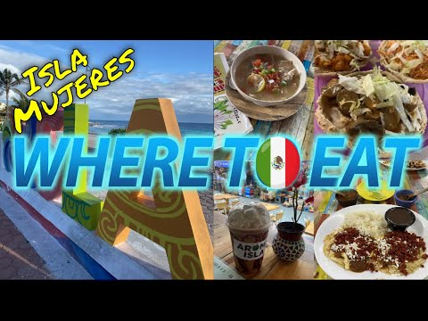 Best LOCAL FOOD On Isla Mujeres (Mexico)