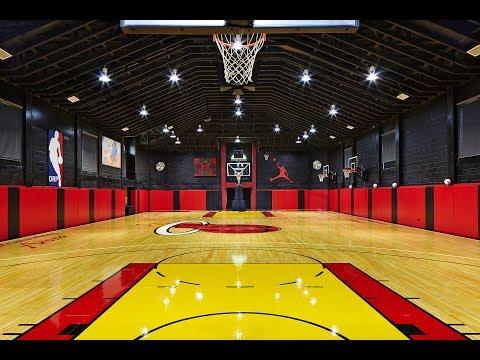 Boca Raton Luxury Estate With Authentic #NBA #Basketball Court | Ben Moss Group