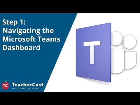 How to Use the Microsoft Teams Dashboard - YouTube
