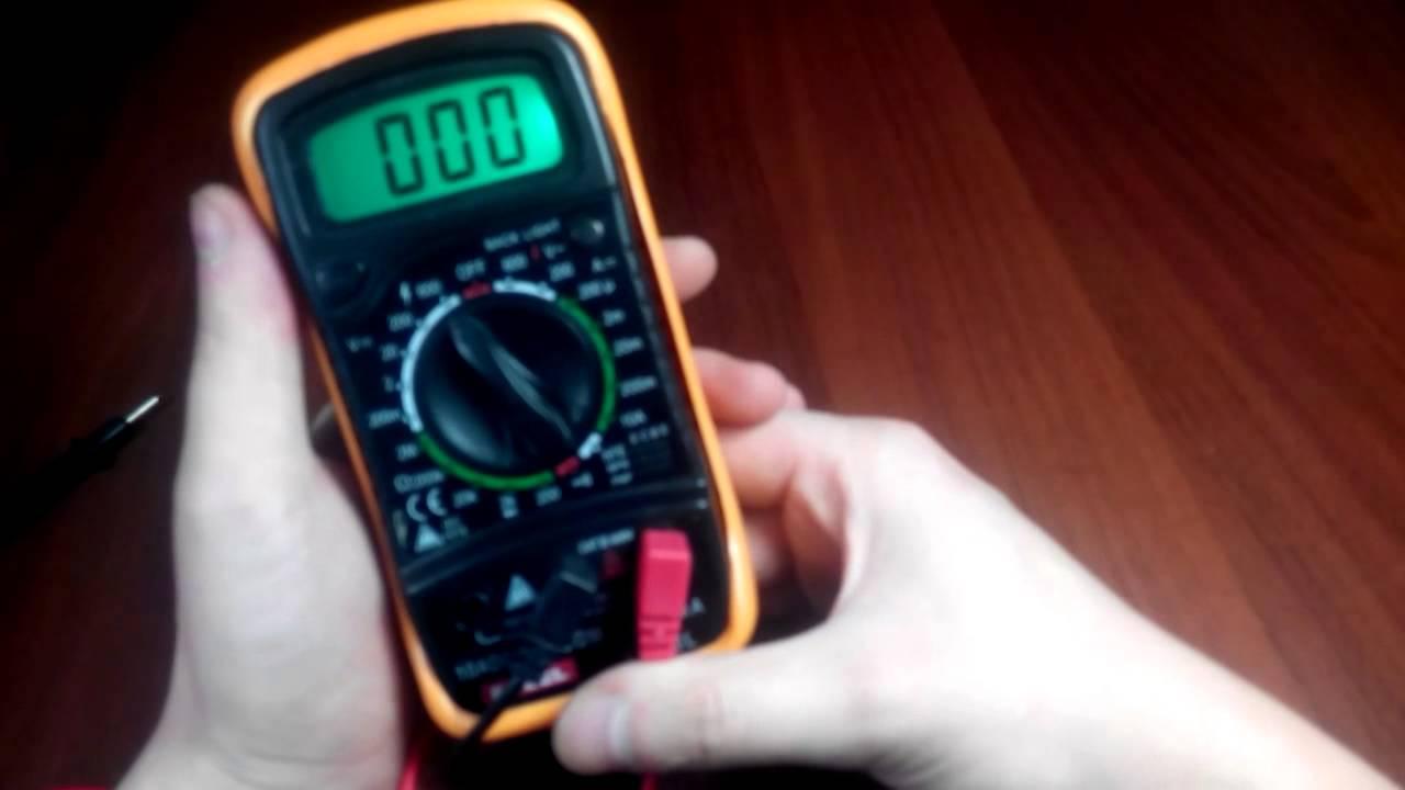 Мультиметры: гонка прозвонки. - YouTube