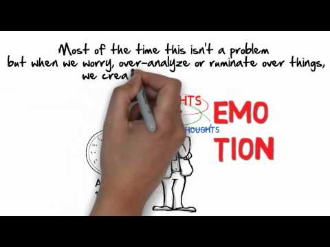What is Mindfulness Based Cognitive Therapy MBCT short animation by BEmindfulUK