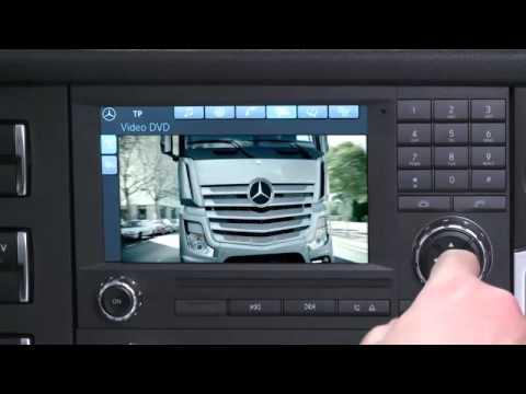 Der neue MB Actros MP4 (7/23) : Radio- und Soundsystem - Video ...
