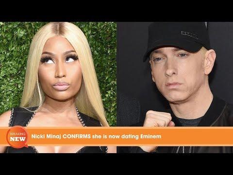 eminem confirms dating nicki