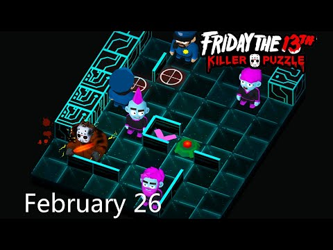 Friday The 13th: Killer Puzzle - Daily Death February 26 Walkthough (iOS, Android)
