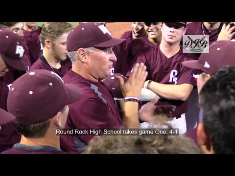 Round Rock High School- Region Two Final Game One