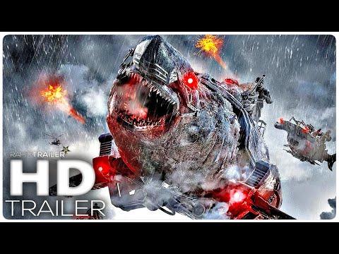 SKY SHARKS Official Trailer (2021) Sci-Fi Movie HD