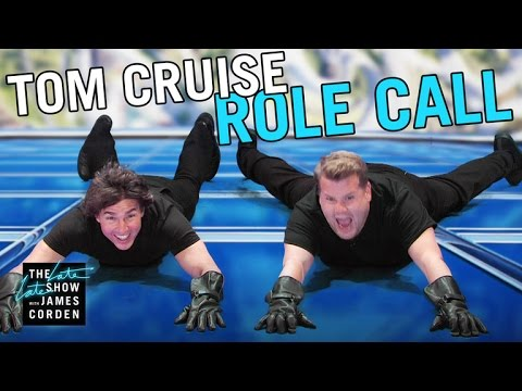 Tom Cruise Acts Out His Film Career w/ James Corden