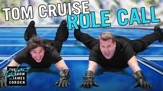 Tom Cruise Acts Out His Film Career w/ James Corden by : The Late Late Show with James Corden