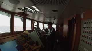 Vivir en un barco atunero en el Pacifico