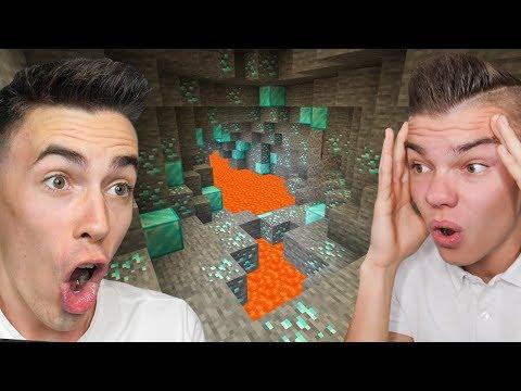 ZNALEŹLIŚMY NAJLEPSZĄ KOPALNIĘ W Minecraft NA ŚWIECIE!