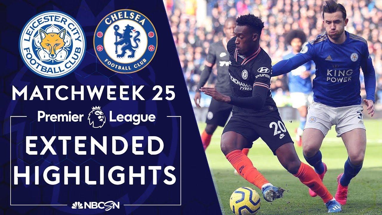 Leicester City v. Chelsea | PREMIER LEAGUE HIGHLIGHTS | 2/1/2020 | NBC Sports