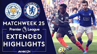 Leicester City V. Chelsea | Premier League Highlights | 2/1/2020 | Nbc Sports