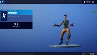 FREE 'RARE' EMOTE IN FORTNITE!! SEASON 6 !! HOT MARAT FOR FREE!!