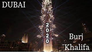 Dubai burj khalifa New Year fire works 2020 Happy New Year 2020