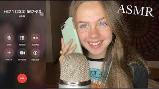 ASMR Calling my Subscribers and doing their Favorite Triggers