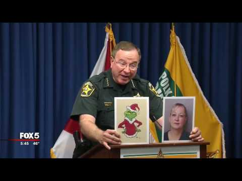 Fla. sheriff compares woman accused of theft to 'Grinch'