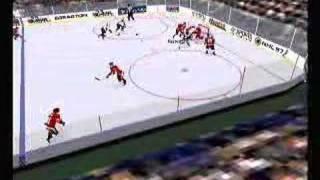 NHL 97 PC - Gameplay footage