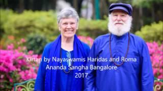 Sunday Satsang  Kirtan with Nayaswamis Haridas and Roma