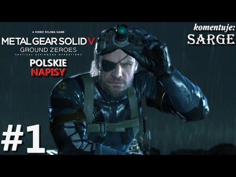 Zagrajmy w Metal Gear Solid 5: Ground Zeroes [napisy PL] odc. 1 - Wielki powrót Big Bossa