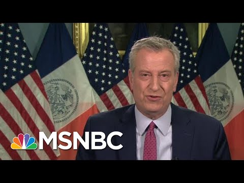De Blasio: Demand In NYC For Vaccinations Is There | Morning Joe | MSNBC