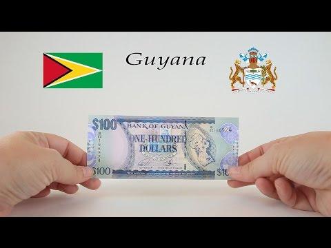 Foreign Money - GUYANA - Guyanese Dollar Banknote (2008)