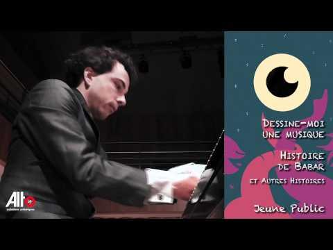 Babar au piano : Après le mariage et le couronnement...