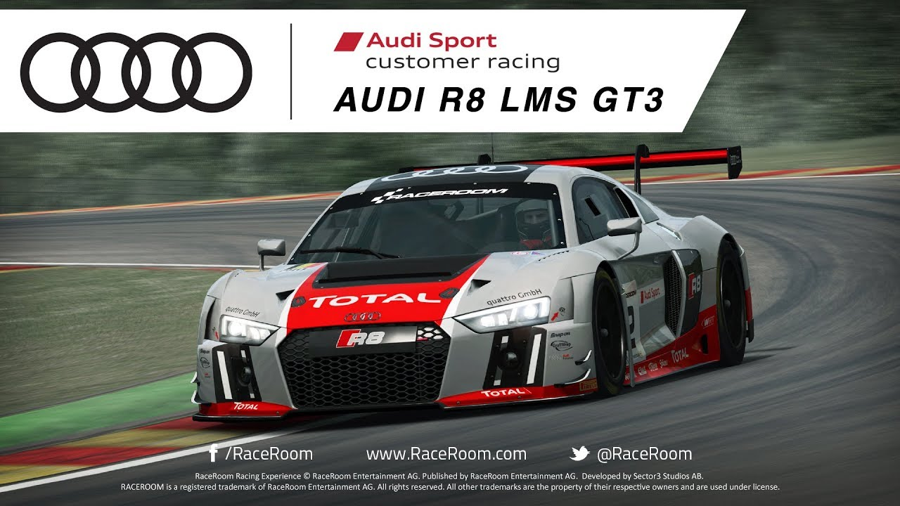 Raceroom Audi R8 Lms Gt3 Youtube