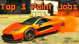 GTA 5 Paint Jobs Progen T20 Top 3 Paint Jobs (GTA 5 Paint Job Guide)