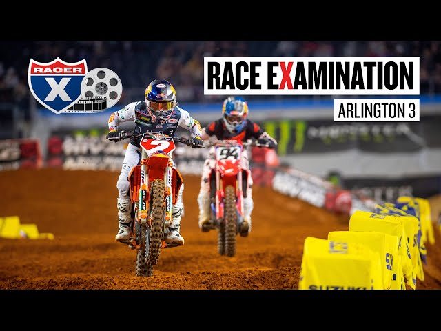 Webb's Strategy, Lawrence in the Nets, & More   Arlington 3 Race Examination